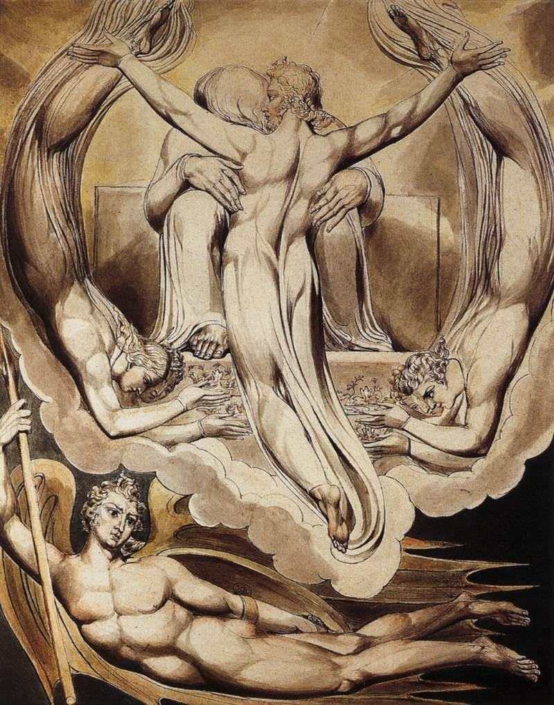 William Blake Christ as the Redeemer of Man