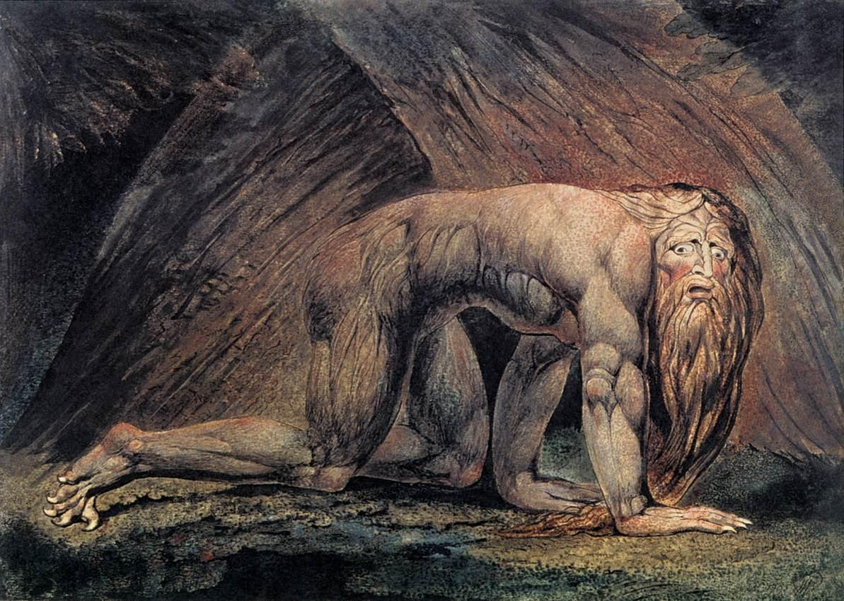 William Blake Nebuchadnezzar