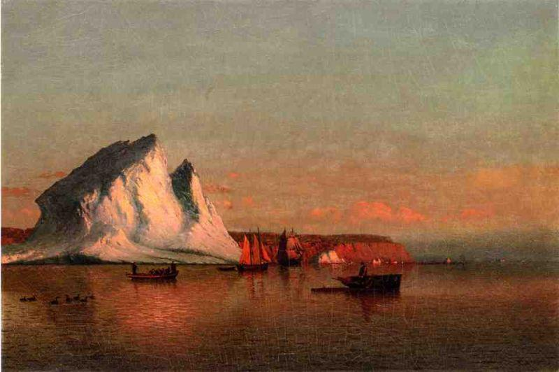 William Bradford Canvas Paintings