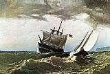 William Bradford Canvas Paintings - After the Storm