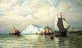 William Bradford Arctic Caravan painting