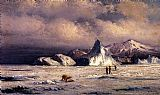 William Bradford Canvas Paintings - Arctic Invaders