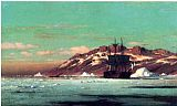William Bradford Canvas Paintings - Arctic Scene