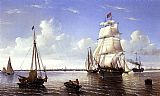 William Bradford Canvas Paintings - Boston Harbor