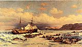 William Bradford Wall Art - Voyage