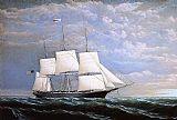 William Bradford Wall Art - Whaleship 'Syren Queen' of Fairhaven