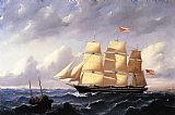 William Bradford Wall Art - Whaleship 'Twilight' of New Bedford