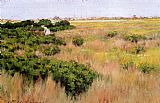 Island Canvas Paintings - Landscape Near Coney Island