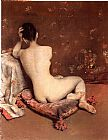 William Merritt Chase The Model painting