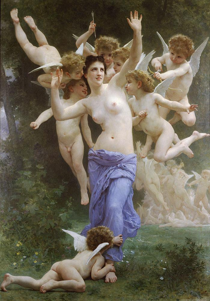 William Bouguereau The Wasp's Nest