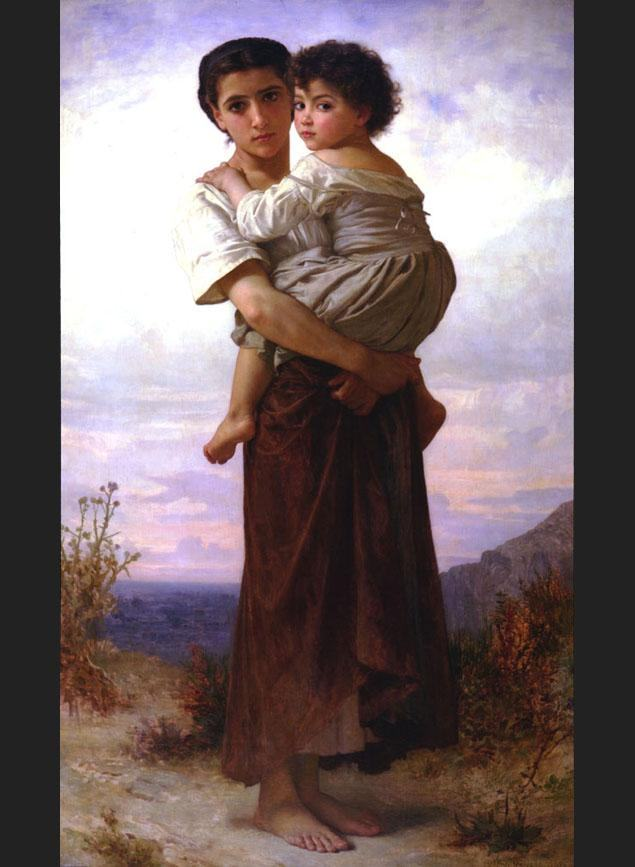William Bouguereau Young Gypsies