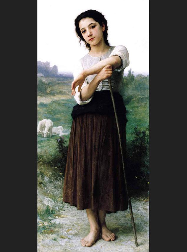 Shepherdess Canvas Paintings