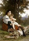 William Bouguereau - Rest
