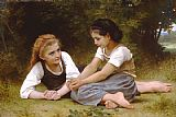 William Bouguereau The Nut Gatherers painting