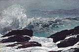 coast Canvas Paintings - Maine Coast