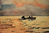 Famous Home Paintings - Rowing Home