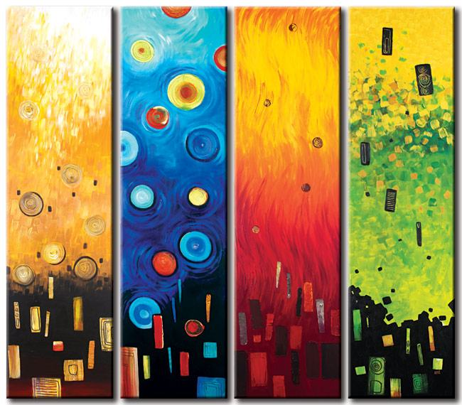 Abstract oil paintings our designs 50 off for Abstract mural designs