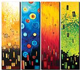 Abstract Famous Paintings -