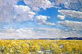 childe hassam Afternoon Sky, Harney Desert painting