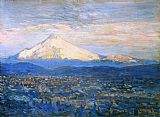 Famous Mount Paintings - Mount Hood