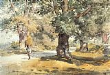 Famous Inn Paintings - Wayside Inn Sudbury Massachusetts