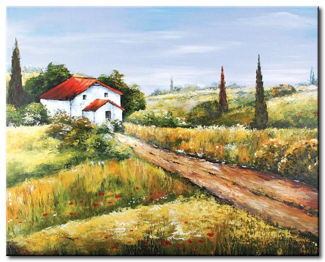 Landscape Canvas Paintings