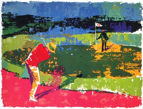Leroy Neiman Chipping On