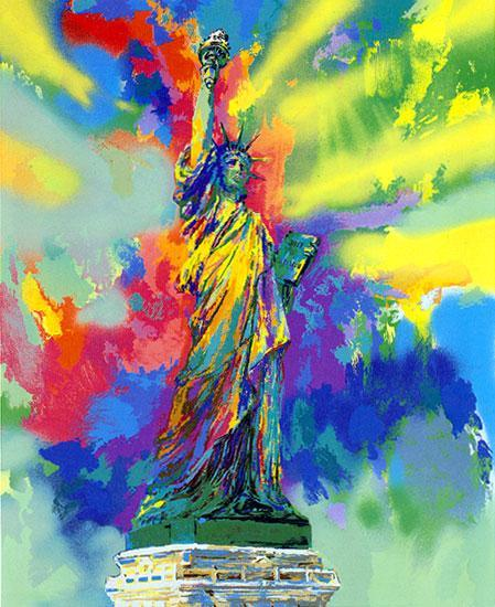 Leroy Neiman Statue of Liberty