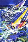 Leroy Neiman High Seas Sailing II painting