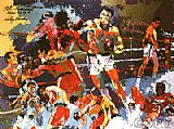 Leroy Neiman Homage to Ali painting