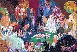 Leroy Neiman International Poker painting
