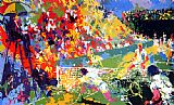 Leroy Neiman Love Story painting