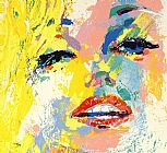 Leroy Neiman Famous Paintings - Marilyn Monroe