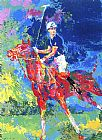 Leroy Neiman Prince Charles At Windsor painting