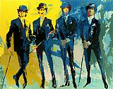 Leroy Neiman Famous Paintings - The Beatles