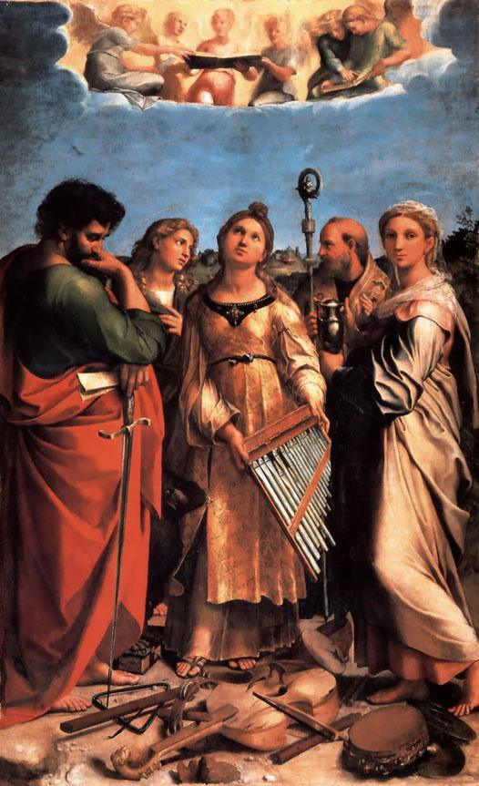 Raphael The Saint Cecilia Altarpiece