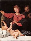 Madonna Canvas Paintings - Madonna of Loreto