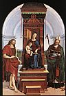 Altarpiece Canvas Paintings - The Ansidei Altarpiece
