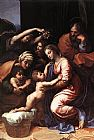 Raphael The Holy Family painting