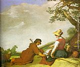 Abraham Bloemaert - Shepherd and Sherpherdess