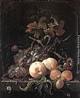 Abraham Mignon Still-Life with Fruits painting