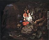 Abraham Mignon The Nature as a Symbol of Vanitas painting