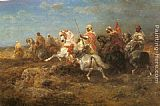 Adolf Schreyer - Arabian Patrol