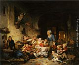 Adrien Ferdinand De Braekeleer - The Village School