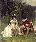Adrien Moreau - The Courtship