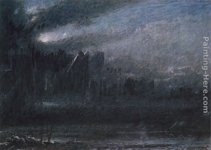 Albert Goodwin Christian and Faithfull in the Grounds of Giant Despair