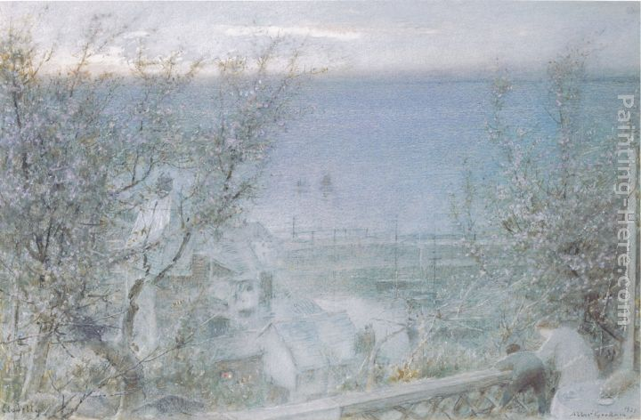 Albert Goodwin Clovelly