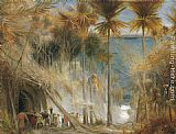 Albert Goodwin Ali Baba abd the Forty Thieves painting