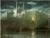 Albert Goodwin Benares painting