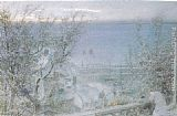 Albert Goodwin Clovelly painting